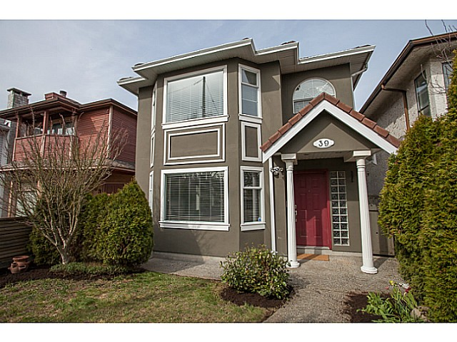Main Photo: 39 E 33RD Avenue in Vancouver: Main House for sale (Vancouver East)  : MLS® # V1053696