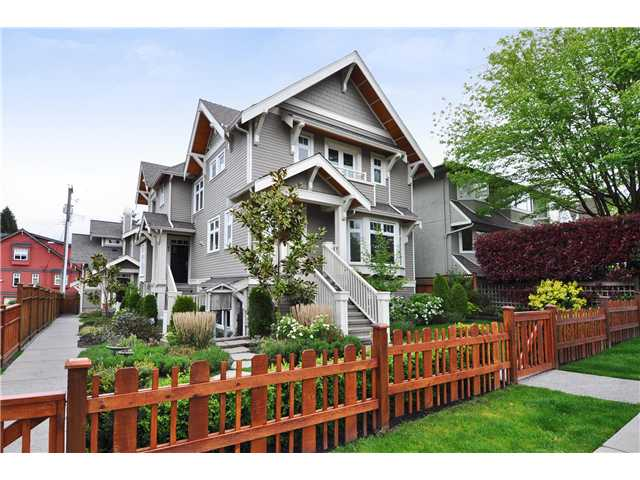 Photo 1: 85 W 15TH Avenue in Vancouver: Mount Pleasant VW Townhouse for sale (Vancouver West)  : MLS(r) # V1062875