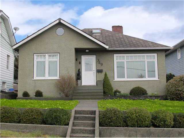 Main Photo: 349 SIMPSON Street in New Westminster: Sapperton House  : MLS® # V1104440
