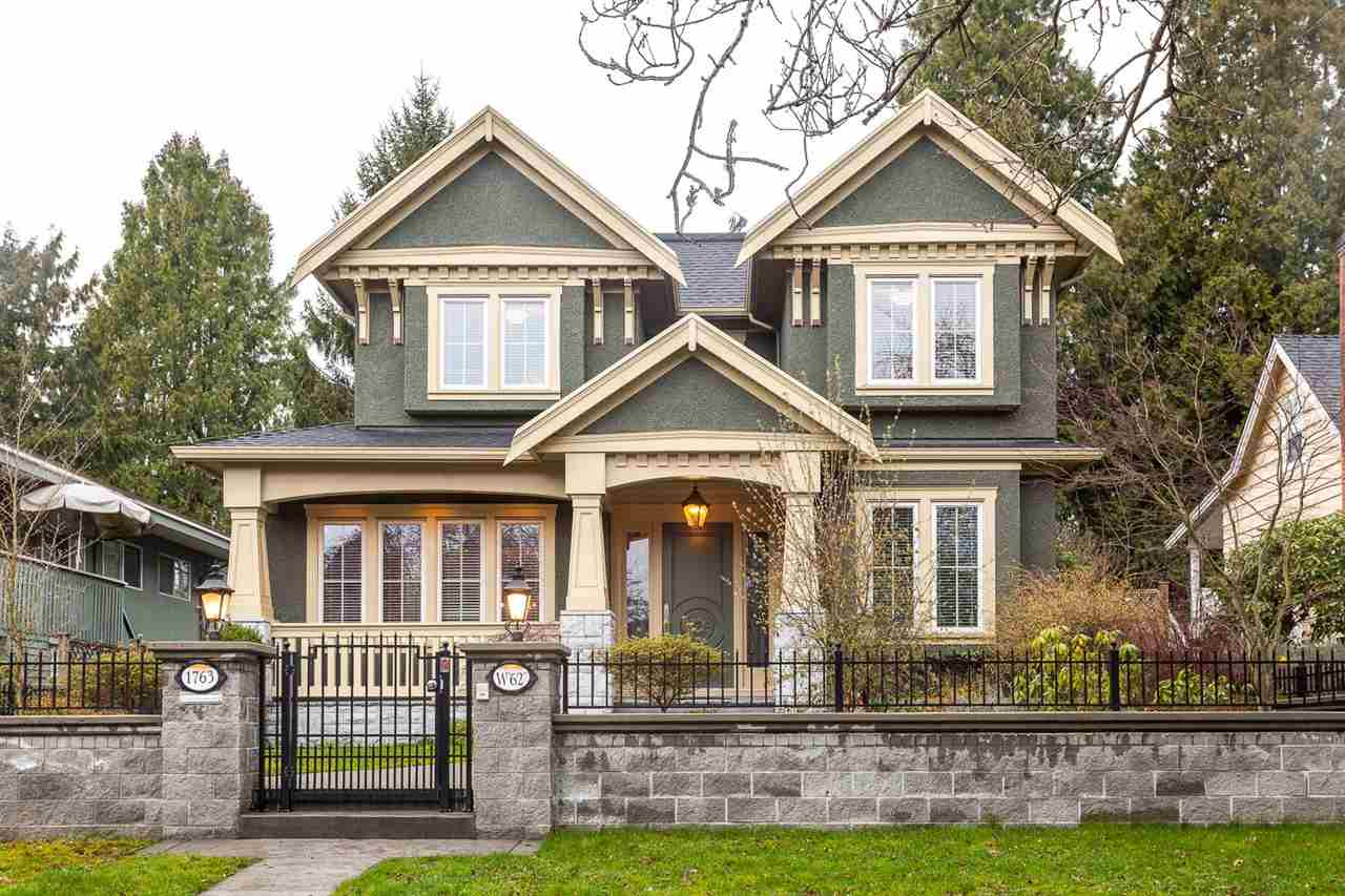 "Main Photo: 1763 W 62ND Avenue in Vancouver: South Granville House for sale in ""SOUTH GRANVILLE"" (Vancouver West)  : MLS®# R2042748"