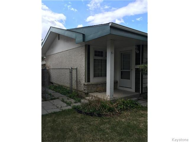 Main Photo: 51 Berard Way in Winnipeg: Fort Garry / Whyte Ridge / St Norbert Residential for sale (South Winnipeg)  : MLS(r) # 1612697