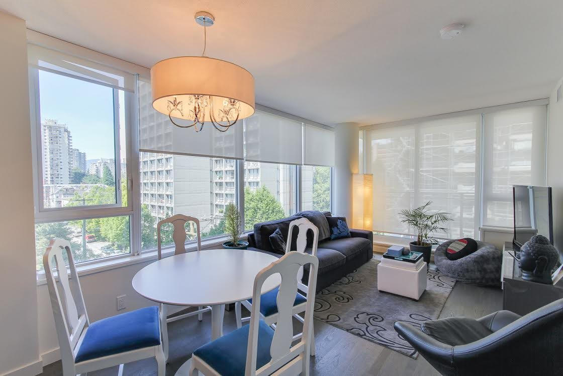 "Photo 7: 802 1009 HARWOOD Street in Vancouver: West End VW Condo for sale in ""MODERN"" (Vancouver West)  : MLS® # R2075325"