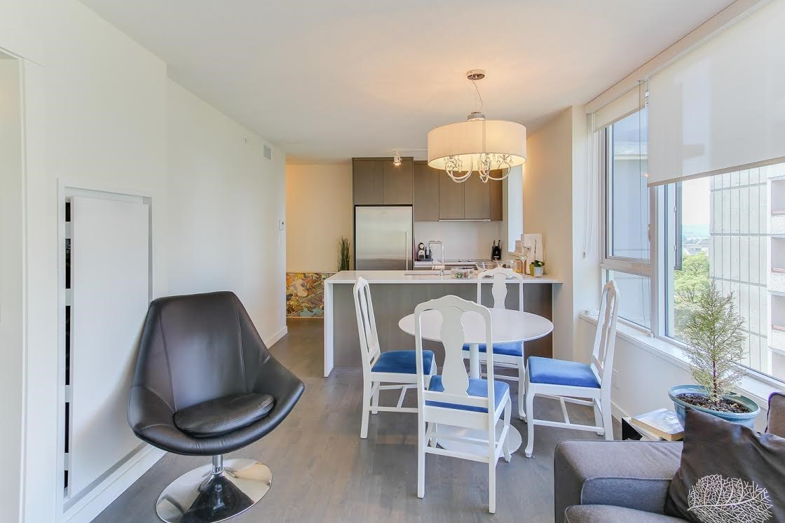 "Photo 6: 802 1009 HARWOOD Street in Vancouver: West End VW Condo for sale in ""MODERN"" (Vancouver West)  : MLS® # R2075325"