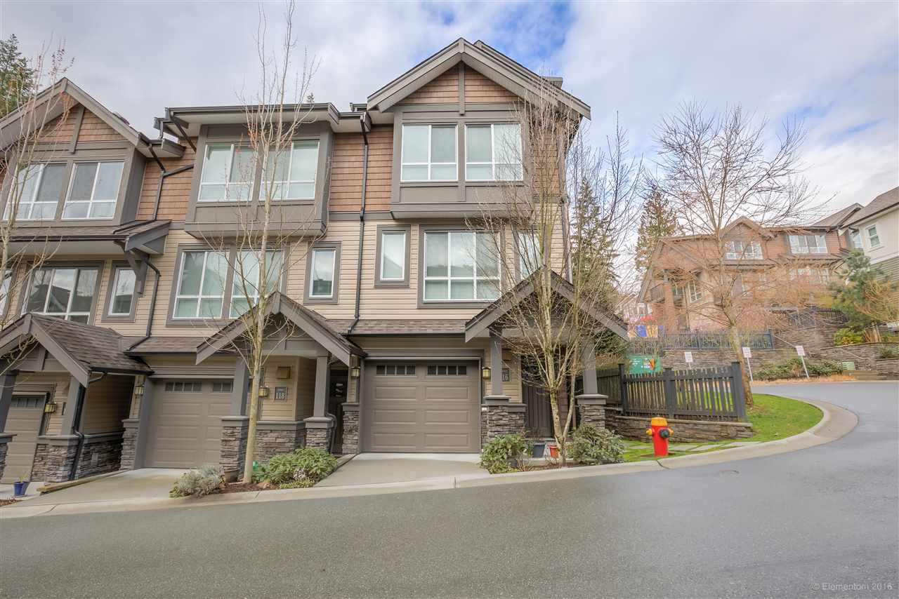 "Main Photo: 116 1460 SOUTHVIEW Street in Coquitlam: Burke Mountain Townhouse for sale in ""CEDAR CREEK"" : MLS®# R2155747"