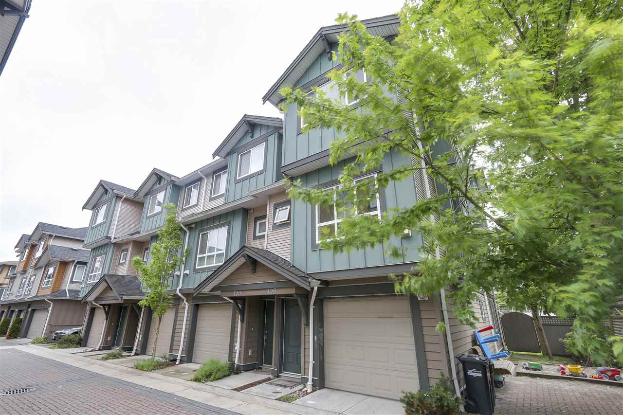 Main Photo: 105 9400 FERNDALE Road in Richmond: McLennan North Townhouse for sale : MLS(r) # R2181295