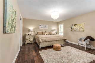 The master bedroom retreat....over sized space for your privacy!