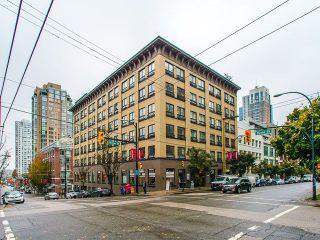"Main Photo: 402 1216 HOMER Street in Vancouver: Yaletown Condo for sale in ""Murchies Building"" (Vancouver West)  : MLS® # R2217252"