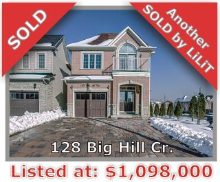 Main Photo: 128 Big Hill Crescent in Vaughan: Patterson Freehold for sale