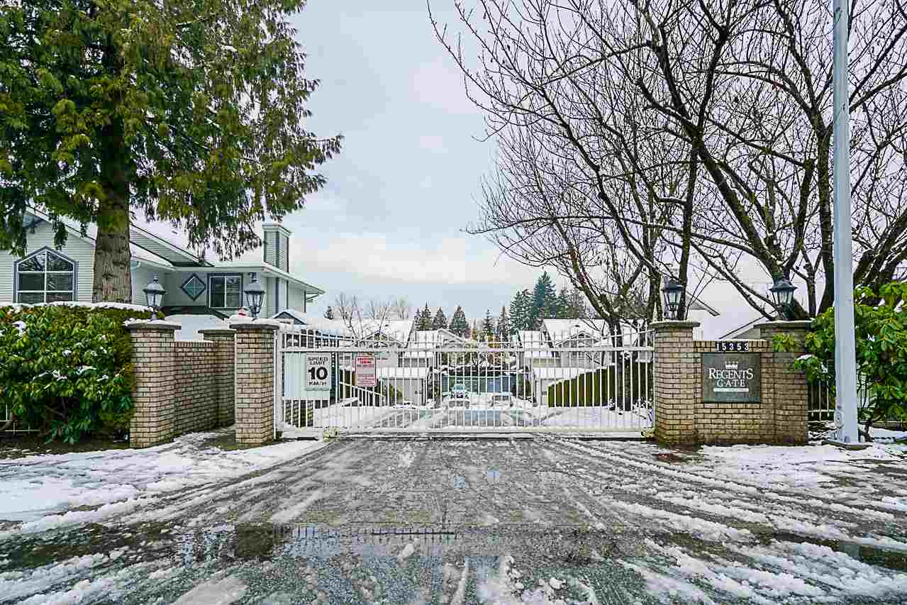 "Photo 1: Photos: 141 15353 105 Avenue in Surrey: Guildford Townhouse for sale in ""REGENTS GATE"" (North Surrey)  : MLS® # R2238749"