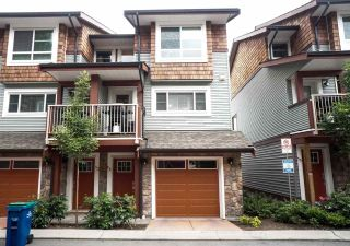 "Main Photo: 54 23651 132 Avenue in Maple Ridge: Silver Valley Townhouse for sale in ""MYRON'S MUSE"" : MLS®# R2283018"