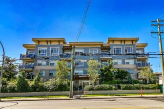"Main Photo: 309 19936 56 Avenue in Langley: Langley City Condo for sale in ""BEARING POINTE"" : MLS®# R2294139"