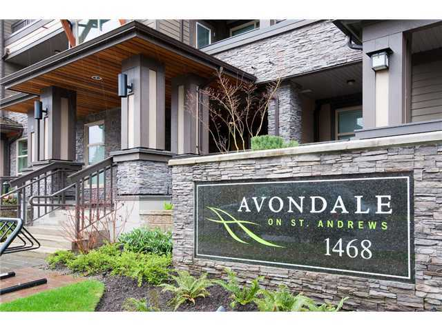 "Main Photo: 105 1468 ST ANDREWS Avenue in North Vancouver: Central Lonsdale Condo for sale in ""Avondale"" : MLS® # V874368"