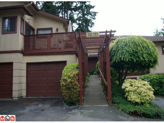 Main Photo: 103 12751 16TH Avenue in Surrey: Crescent Bch Ocean Pk. Townhouse for sale (South Surrey White Rock)  : MLS® # F1214452