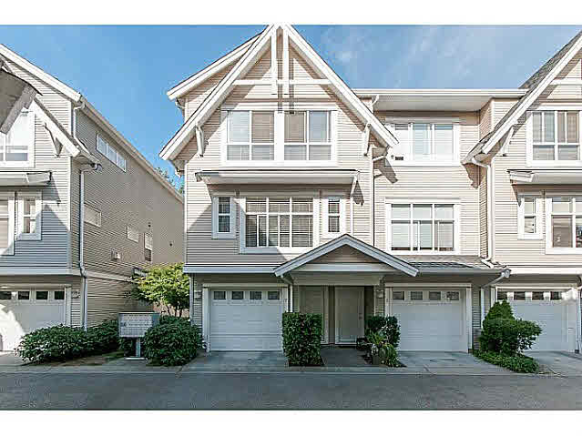 "Main Photo: 7 6415 197 Street in Langley: Willoughby Heights Townhouse for sale in ""Logans Reach"" : MLS®# F1450512"