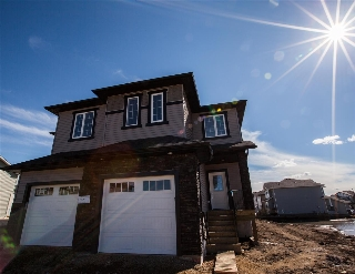Main Photo: 8566 CUSHING Place in Edmonton: Zone 55 House Half Duplex for sale : MLS(r) # E4056861