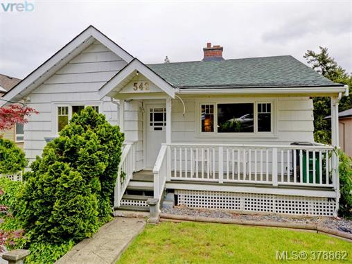 Main Photo: 542 Ker Avenue in VICTORIA: SW Gorge Single Family Detached for sale (Saanich West)  : MLS(r) # 378862