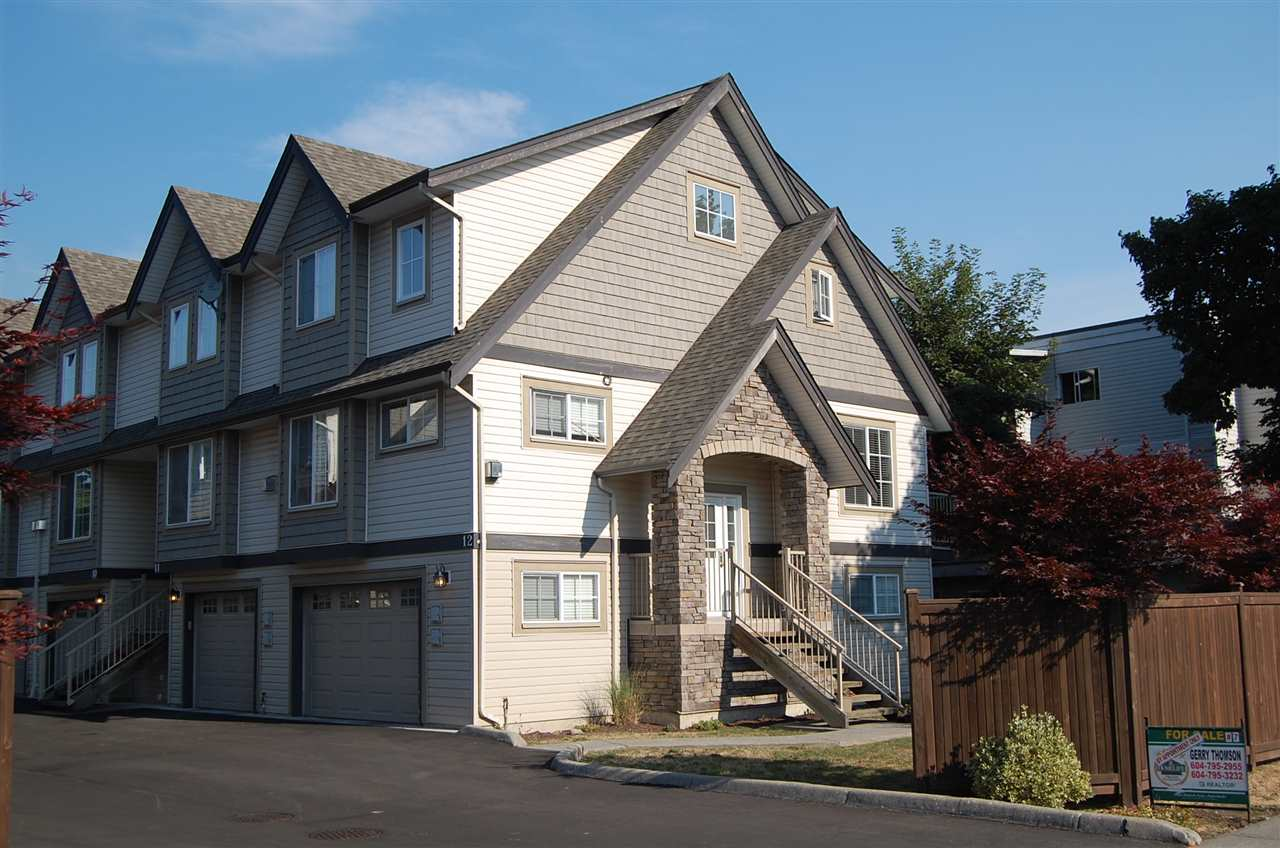 "Main Photo: 7 9447 COLLEGE Street in Chilliwack: Chilliwack N Yale-Well Townhouse for sale in ""ROSEWOOD LANE"" : MLS® # R2198894"