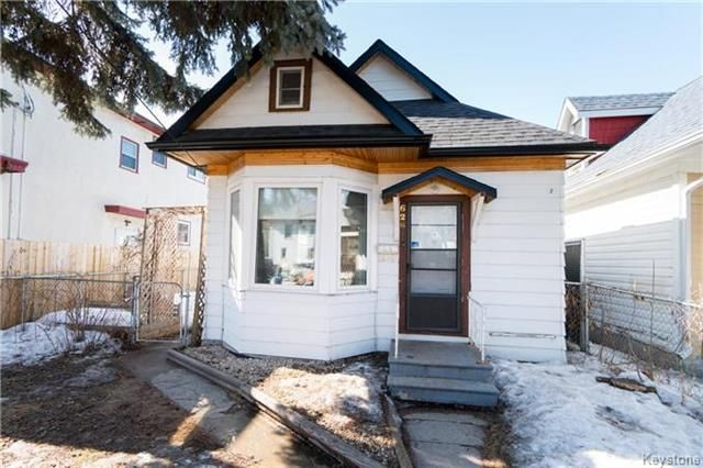 Main Photo: 626 Burnell Street in Winnipeg: West End Residential for sale (5C)  : MLS®# 1807107