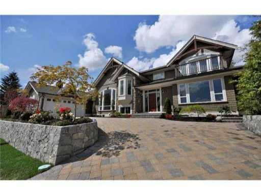"Main Photo: 954 WENTWORTH Avenue in North Vancouver: Forest Hills NV House for sale in ""CAPILANO HIGHLANDS"" : MLS® # V897595"