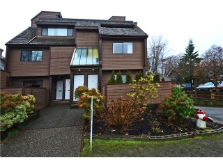 "Main Photo: 3351 MOUNTAIN Highway in North Vancouver: Lynn Valley Townhouse for sale in ""VILLAGE ON THE CREEK"" : MLS®# V1044086"
