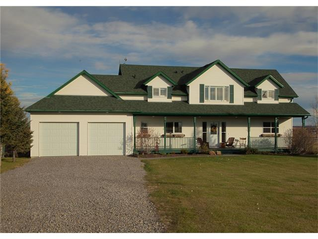 Main Photo: 338164 38 Street W: Rural Foothills M.D. House for sale : MLS® # C4035375