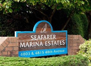 "Main Photo: 209 4803 48 Avenue in Delta: Ladner Elementary Condo for sale in ""SEAFARER GARDEN ESTATES"" (Ladner)  : MLS®# R2116543"