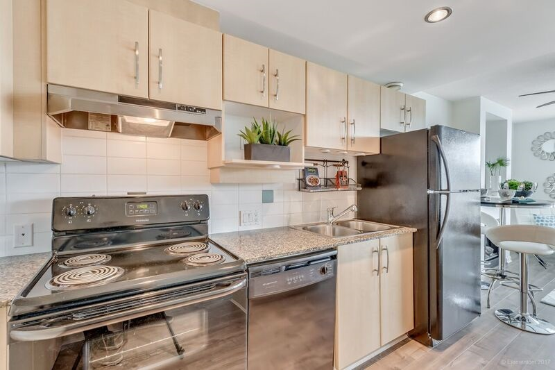 "Photo 5: 103 9298 UNIVERSITY Crescent in Burnaby: Simon Fraser Univer. Condo for sale in ""NOVO I"" (Burnaby North)  : MLS® # R2148471"