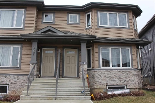 Main Photo: 5284 21 Avenue in Edmonton: Zone 53 House Half Duplex for sale : MLS® # E4059115
