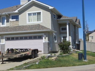 Main Photo: 1504 MCMILLIAN Place in Edmonton: Zone 55 House Half Duplex for sale : MLS(r) # E4059468
