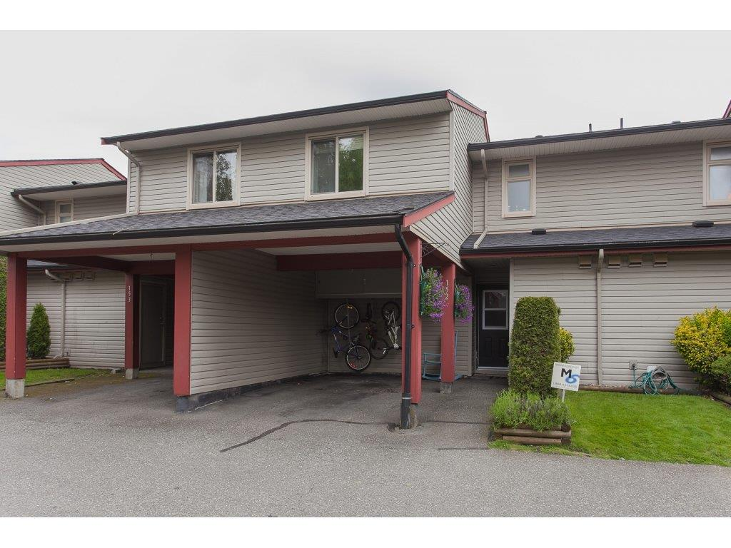 "Main Photo: 152 27456 32ND Avenue in Langley: Aldergrove Langley Townhouse for sale in ""Cedar Park"" : MLS® # R2167533"