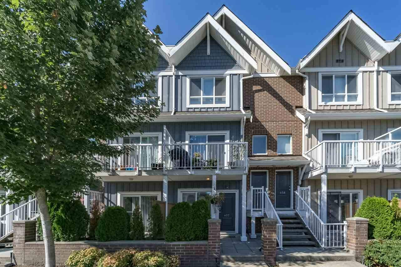 "Main Photo: 407 1661 FRASER Avenue in Port Coquitlam: Glenwood PQ Condo for sale in ""Brimley Mews"" : MLS® # R2197805"