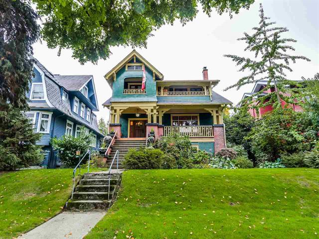 Main Photo: 2036 W 13th Avenue in Vancouver: Kitsilano House for sale (Vancouver West)  : MLS® # R2005863
