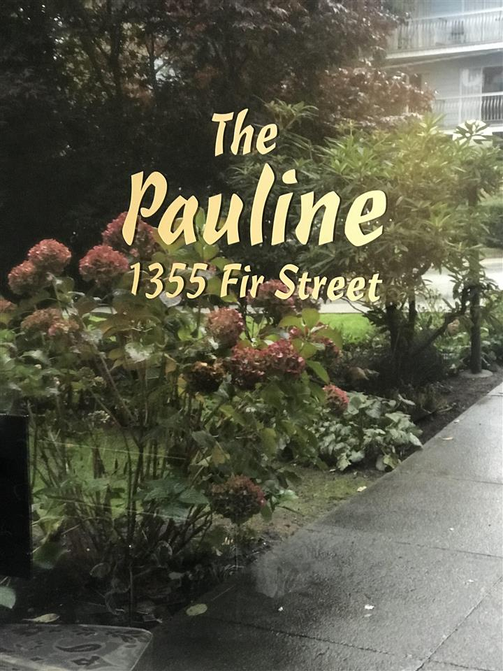 "Photo 2: Photos: 301 1355 FIR Street: White Rock Condo for sale in ""The Pauline"" (South Surrey White Rock)  : MLS® # R2215647"