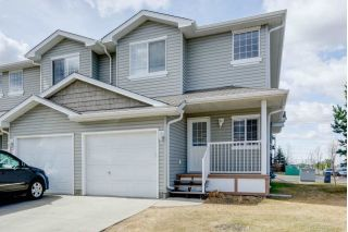 Main Photo: 32 380 SILVERBERRY Road in Edmonton: Zone 30 Townhouse for sale : MLS®# E4109170