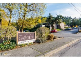 "Main Photo: 1212 34909 OLD YALE Road in Abbotsford: Abbotsford East Townhouse for sale in ""THE GARDENS"" : MLS®# R2302068"