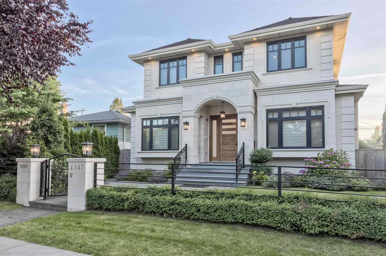 FEATURED LISTING: 4347 VALLEY Drive Vancouver