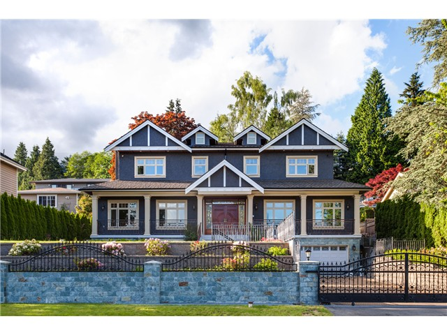 Main Photo: 1365 Palmerston Av in West Vancouver: Ambleside House for sale : MLS® # V1066234