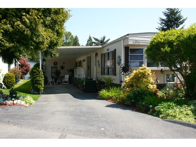 Main Photo: # 103 1840 160 ST in Surrey: King George Corridor House for sale (South Surrey White Rock)  : MLS(r) # F1441004