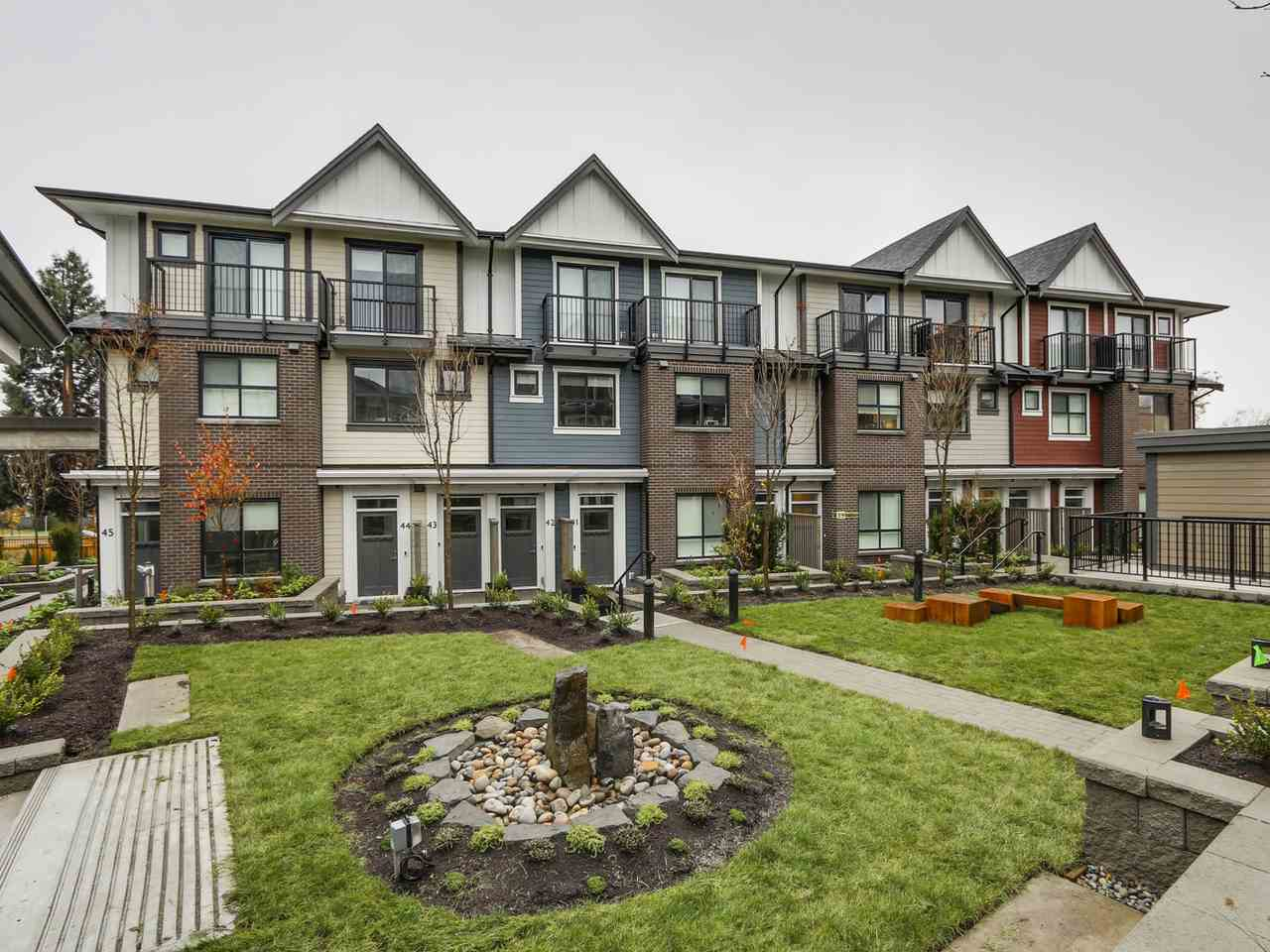 Main Photo: TH37 7039 MACPHERSON AVENUE in Burnaby: Metrotown Townhouse for sale (Burnaby South)  : MLS® # R2127174