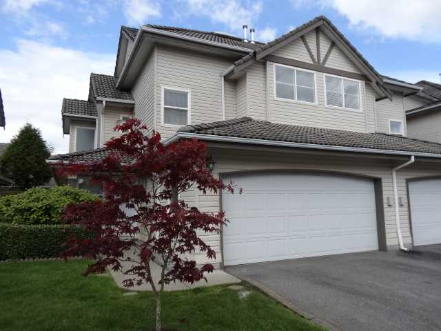 Main Photo: 27 758 Riverside Drive in Port Coquitlam: Townhouse for sale : MLS® # V1063122