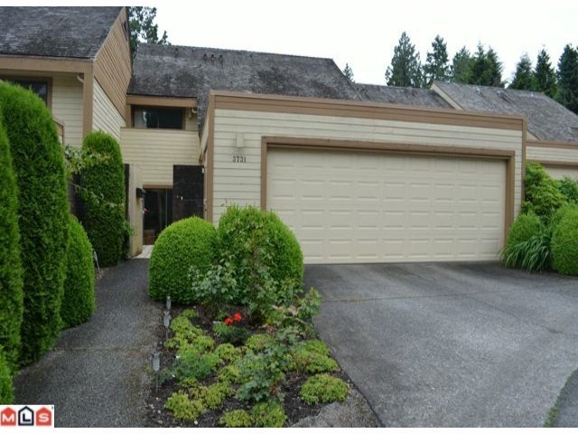"Main Photo: 3731 NICO WYND Drive in Surrey: Elgin Chantrell Townhouse for sale in ""NICO WYND"" (South Surrey White Rock)  : MLS® # F1301677"