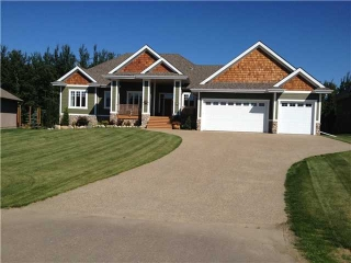 Main Photo: 23 Rivers Edge Place in STURGEON COUNTY: Rural Sturgeon County House for sale : MLS(r) # E3333385