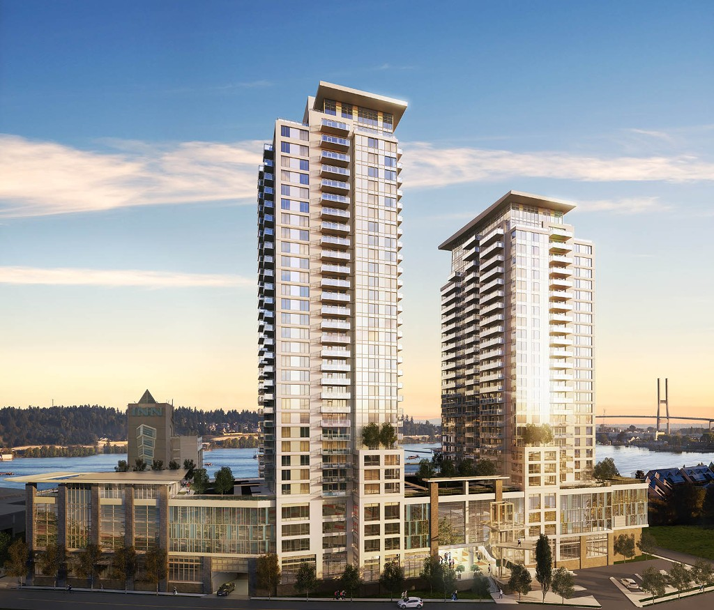 Main Photo: #1512 at RIVERSKY by BOSA in : Quay Condo  (New Westminster)