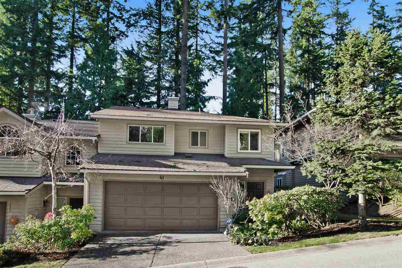 Main Photo: 41 DEERWOOD PLACE in Port Moody: Heritage Mountain Townhouse for sale : MLS® # R2018379