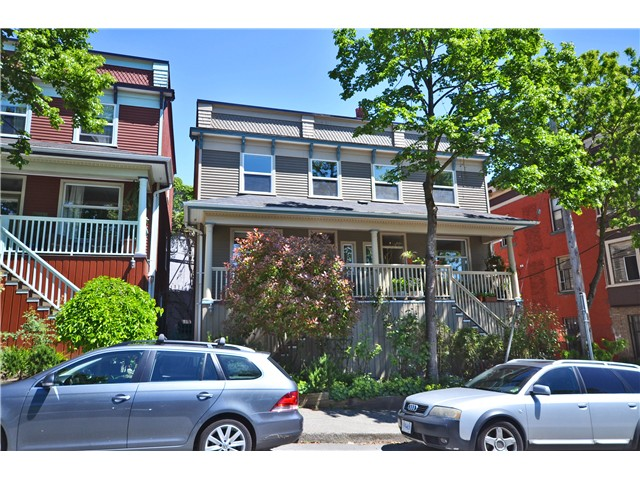 Main Photo: 618 JACKSON Avenue in Vancouver: Mount Pleasant VE Townhouse for sale (Vancouver East)  : MLS® # V1010749
