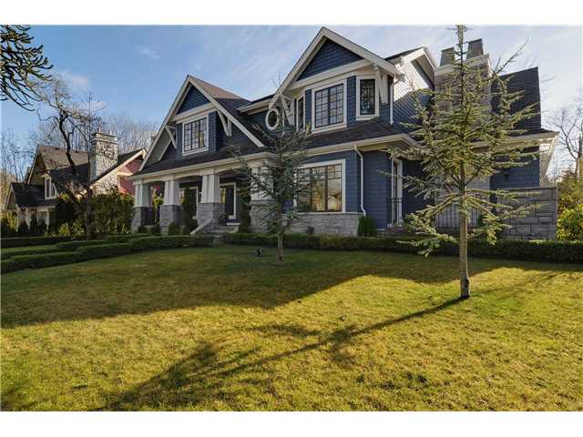 Main Photo: 1438 Devonshire Crescent in Vancouver: Shaughnessy House for sale (Vancouver West)  : MLS®# V929786