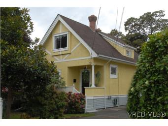 Main Photo: 1044 Redfern Street in VICTORIA: Vi Fairfield East Single Family Detached for sale (Victoria)  : MLS® # 269275