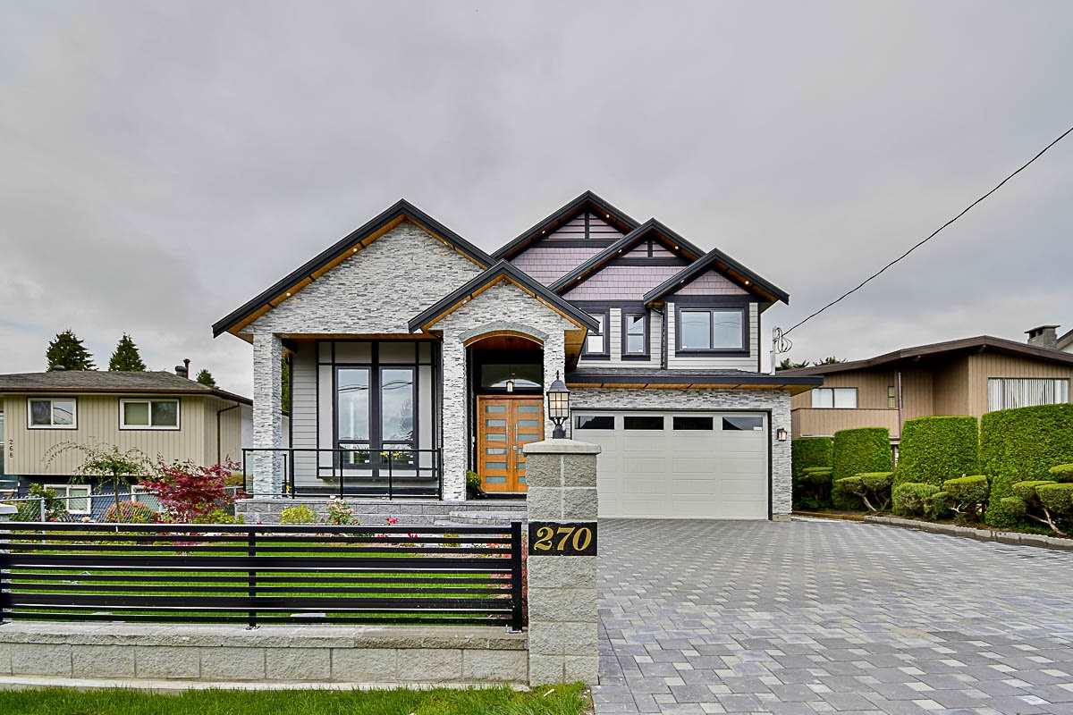 Main Photo: 270 MUNDY STREET in Coquitlam: Central Coquitlam House for sale : MLS® # R2106389