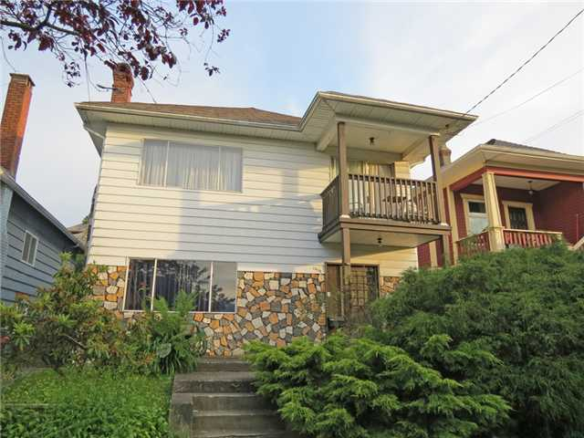 Main Photo: 1970 ADANAC Street in Vancouver: Hastings House for sale (Vancouver East)  : MLS® # V960127