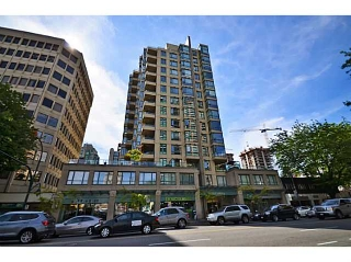 Main Photo: # 404 1238 BURRARD ST in Vancouver: Downtown VW Condo for sale (Vancouver West)  : MLS®# V1012525